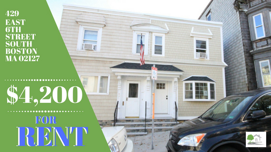 New Rental! 429 East 6th Street – South Boston,MA   02127