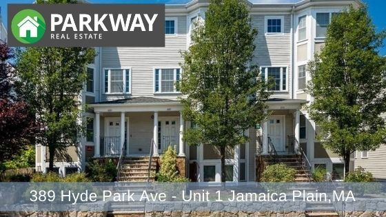 389 Hyde Park Ave – Unit 1 Jamaica Plain, MA
